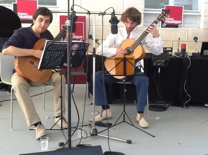 Duo Mélisande à France Musique