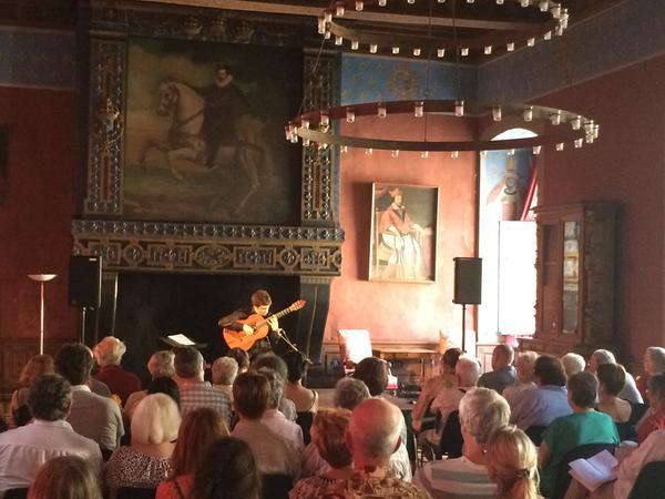 Musicancy : concert au château d'Ancy le Franc,